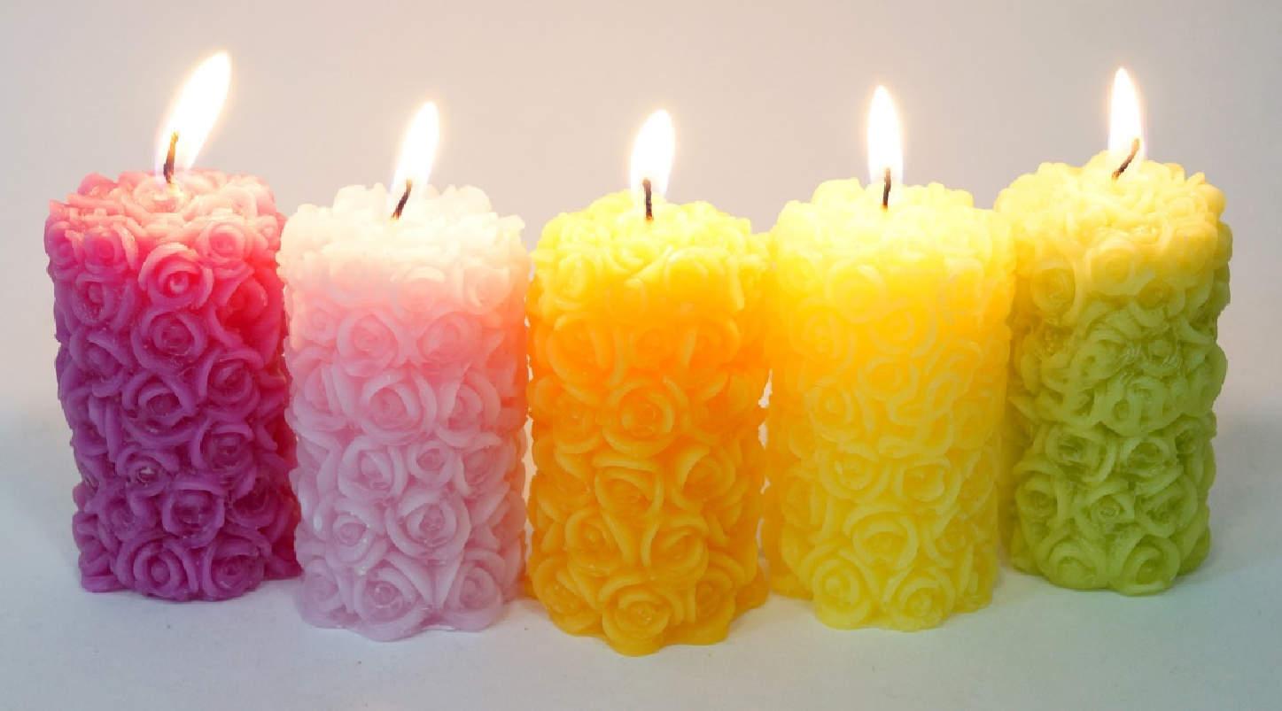 свечи насыпные фото