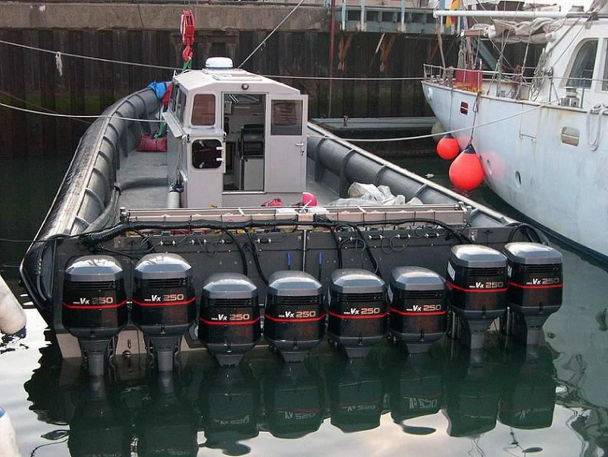 лодки с мощными двигателями