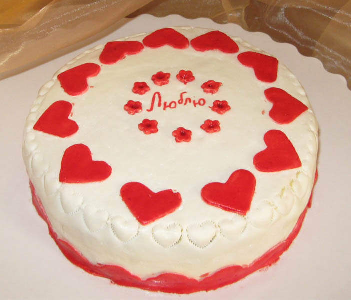 Украсить торт любимому своими руками 67