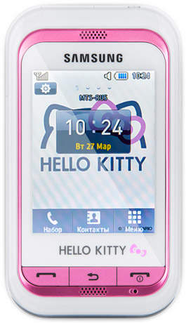 2ea1d44587690 265 X 460 63.1 Kb Телефон Samsung Hello Kitty, цена 1000р.