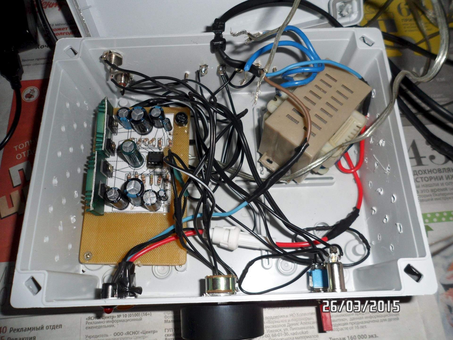 схема подключения вч модулятора от видика