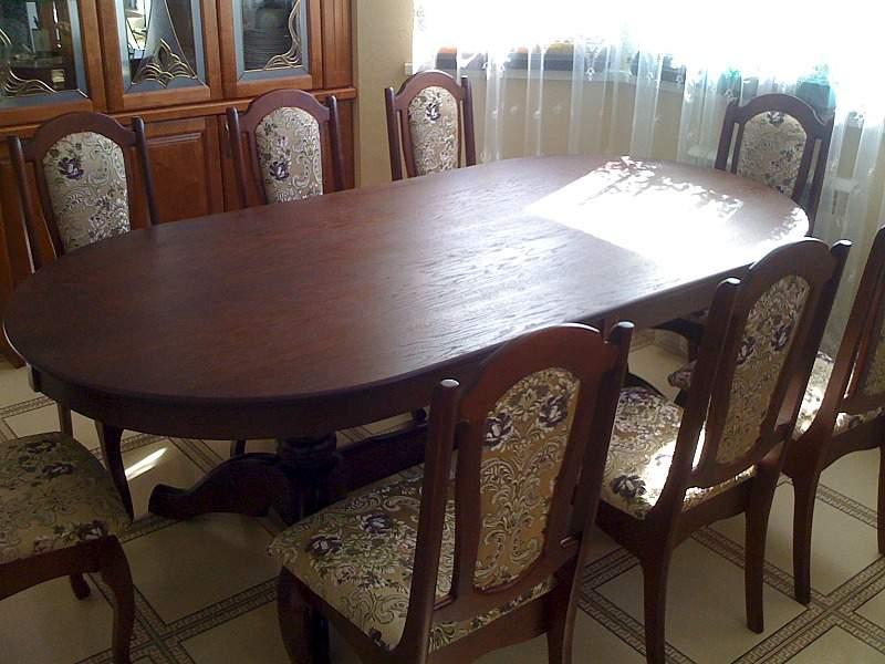 1600 X 1200 639.0 Kb продам обеденный стол и стулья. дерево. фото. в наличии. новое.