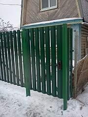 1536 X 2048 800.8 Kb забор профнастил, теплицы