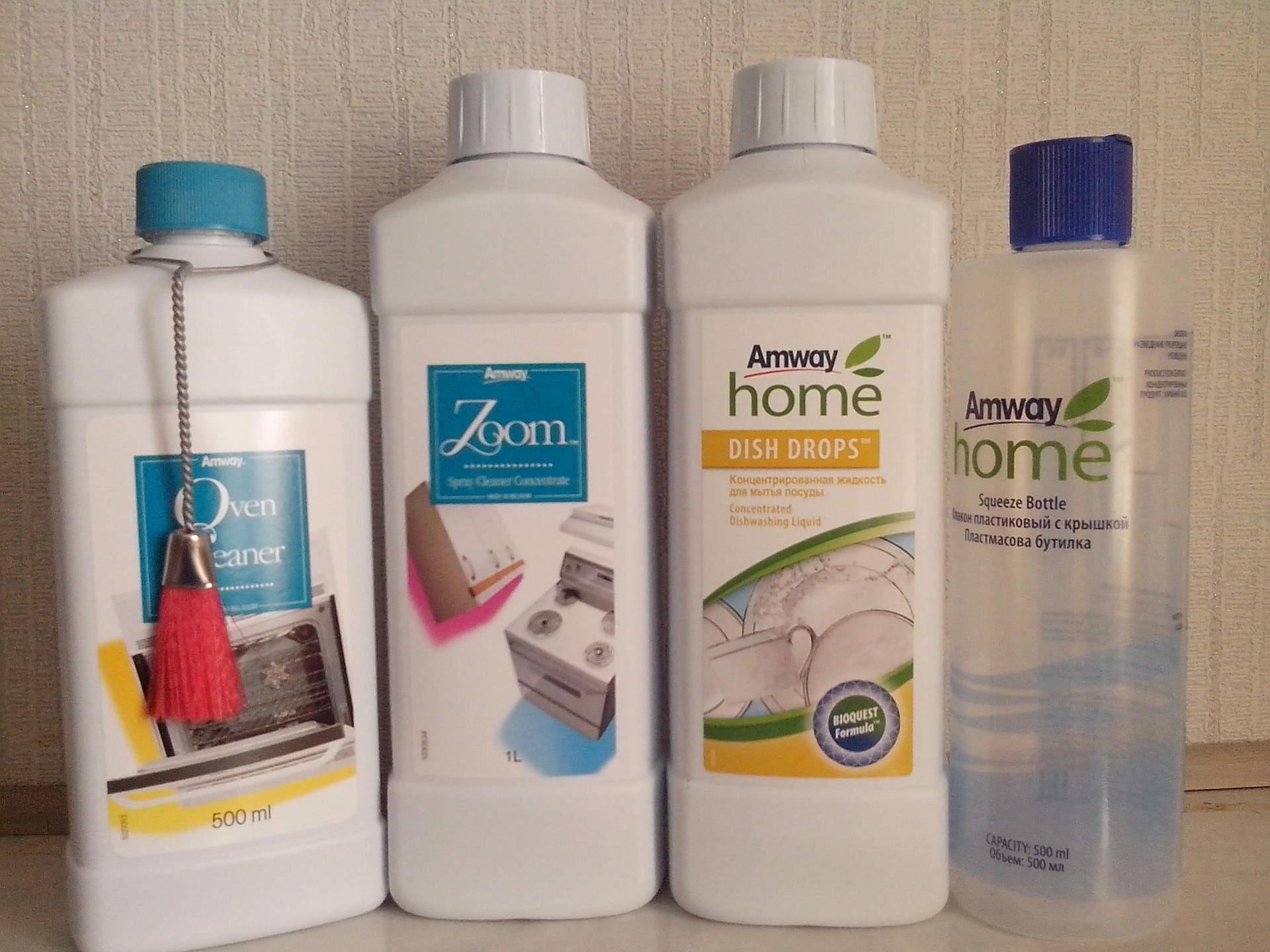 Что лучше брать в амвей концентрированное чистящее средство или многофункциональное фото