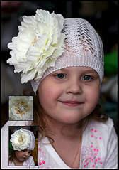 519 X 740 149.7 Kb Чудесные шапочки и повязки с ЦВЕТАМИ.