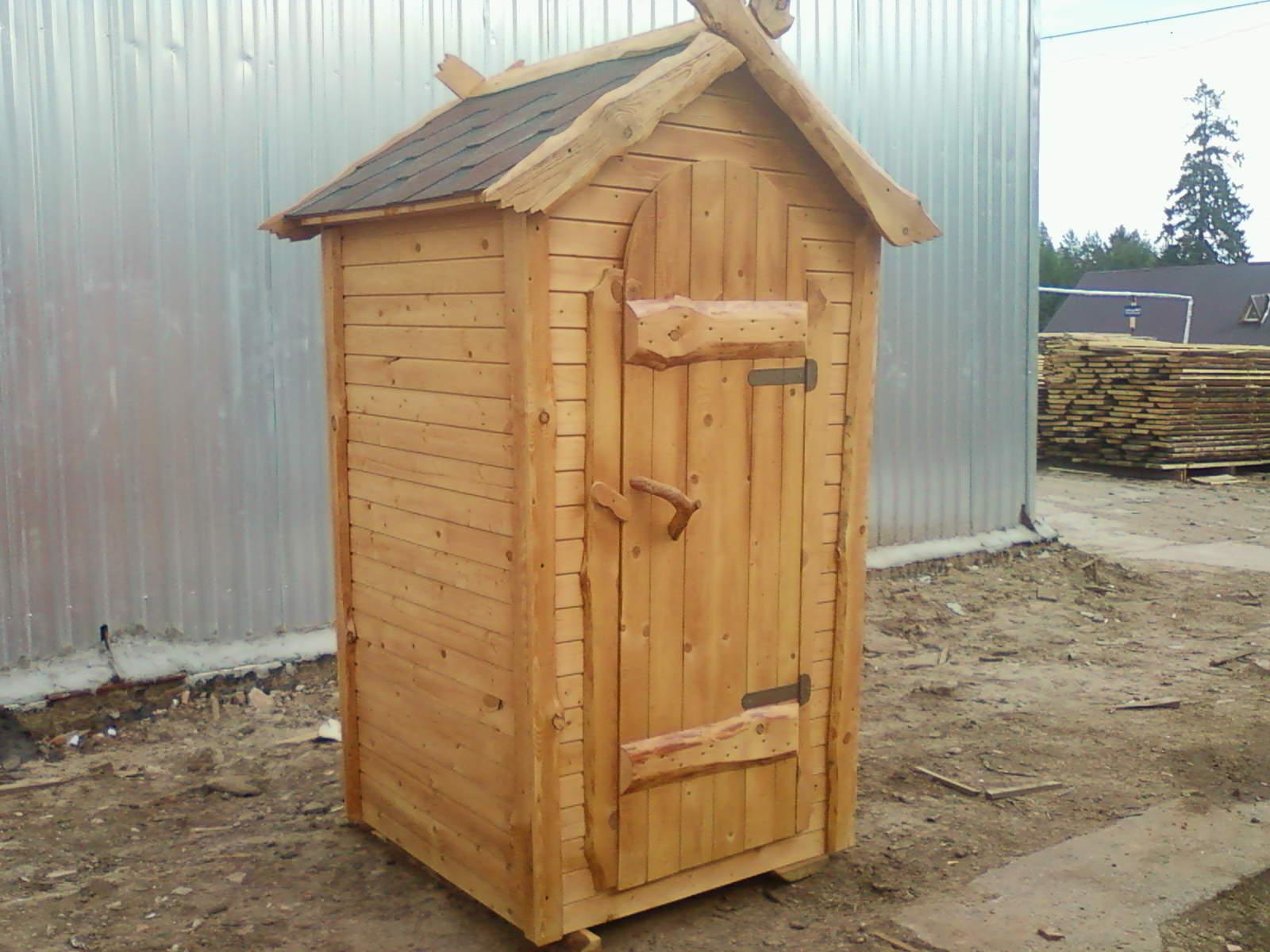 Как построить деревенский туалет своими руками6
