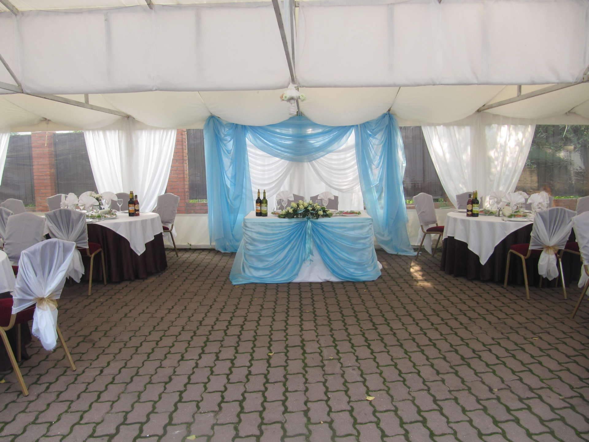 Свадебное  для свадьбы за городом