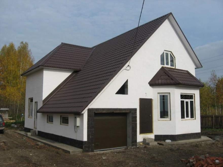 Своими руками дом из полистиролбетонных блоков