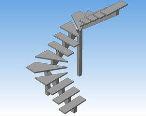 727 X 579  17.6 Kb Лестницы стальные изготовление, проектирование