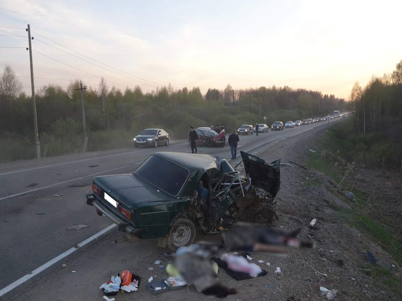 авария ваз 2106 и peugeot