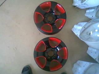 1600 X 1200 261.5 Kb Окраска автомобильных дисков