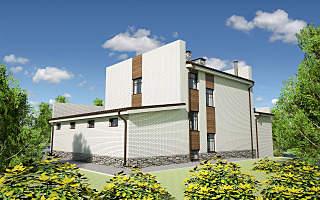 1280 X 800 229.6 Kb Проекты уютных загородных домов