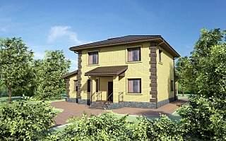 1280 X 800 277.6 Kb Проекты уютных загородных домов