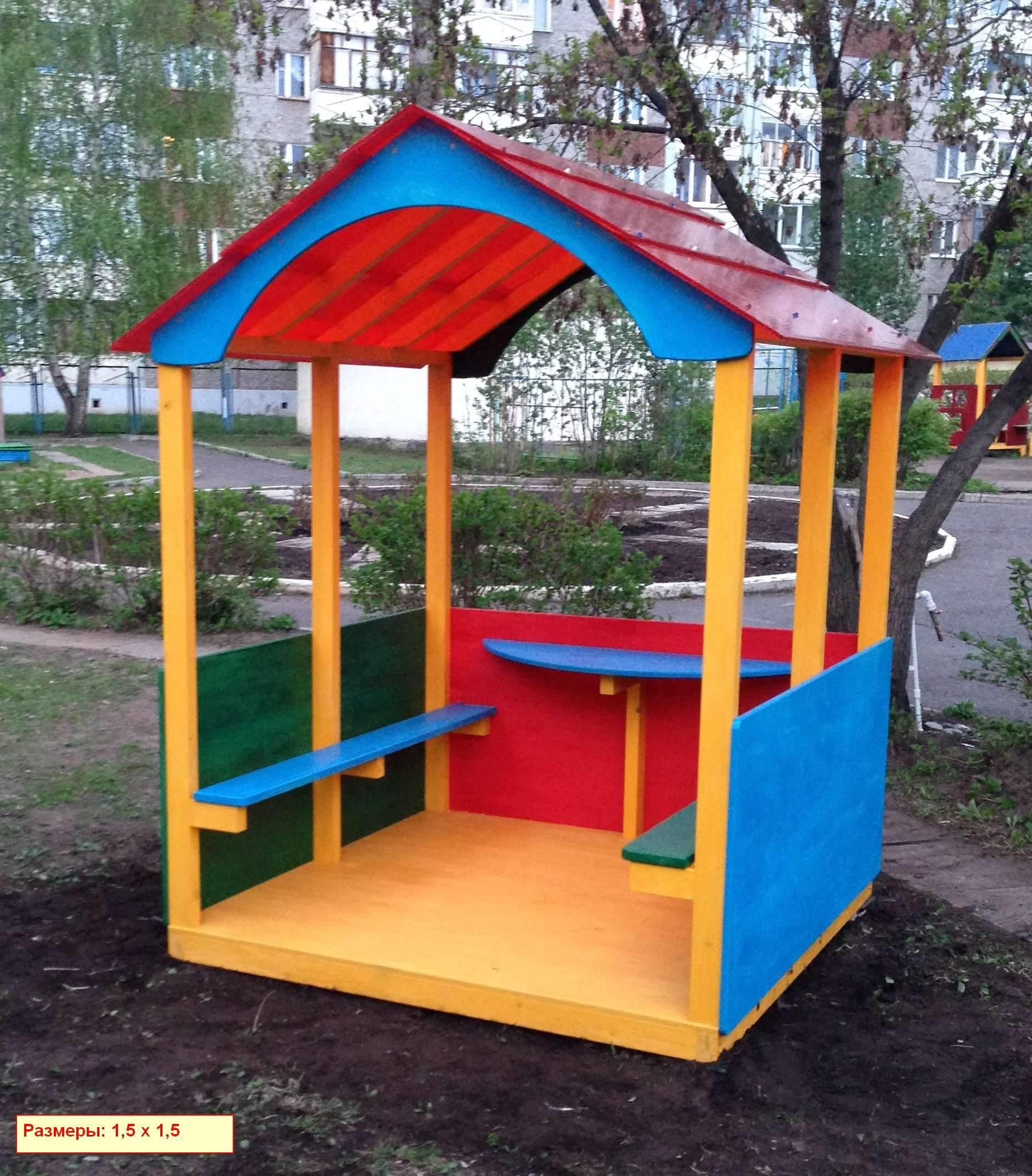 Детский домик своими руками для детского сада 233