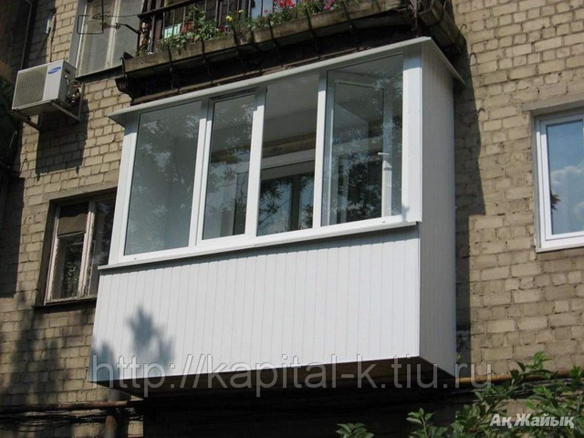 Кинешма можно ли остекленить балкон металопластиком цена..