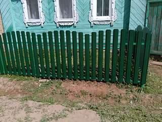 1920 X 1440 420.5 Kb забор профнастил, теплицы(фото работ)