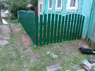 1920 X 1440 388.7 Kb 1920 X 1440 420.5 Kb забор профнастил, теплицы(фото работ)