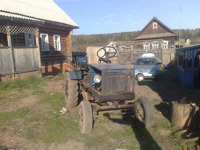 Самодельный трактор с мостом газ 53