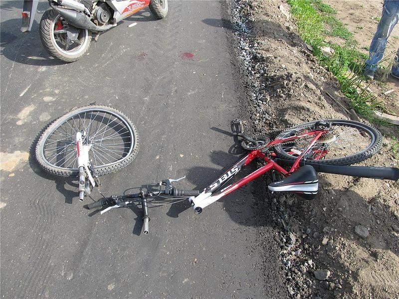 В Курске сразу несколько подростков пострадали в ДТП