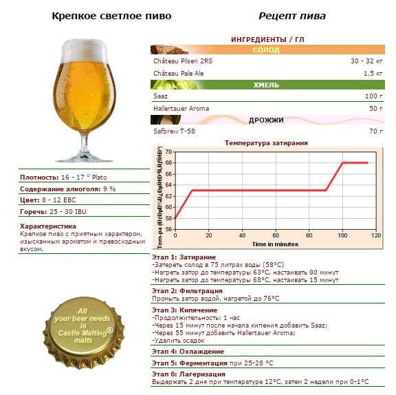Сварить пиво в домашних условиях рецепты 24
