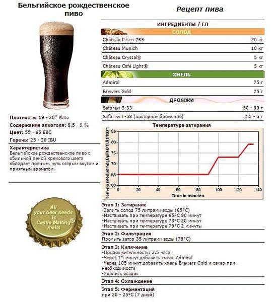 Рецепт варки пиво в домашних условиях 588