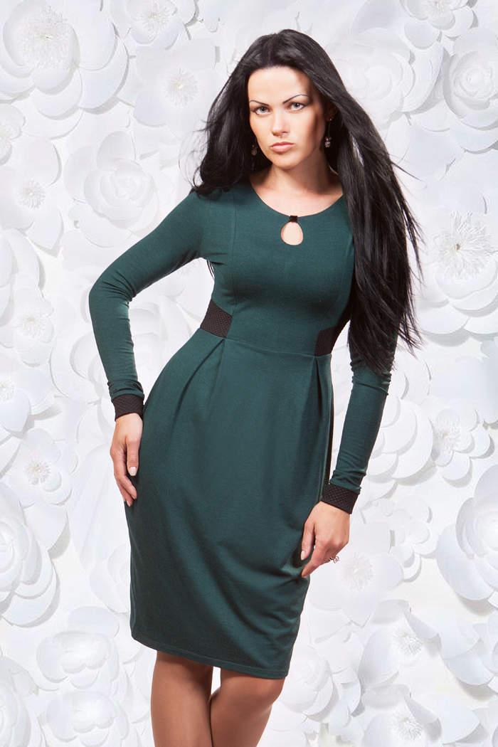 Осенние фасоны платья