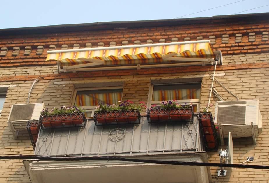 Уличные балконы своими руками.