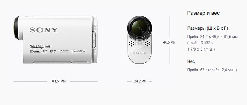 840 X 357 67.6 Kb Продам экшн камера видеокамера Sony HDR-AS100V Wi-Fi + GPS наложение на видео FullHD