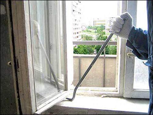 Технология монтажа пластиковых окон с балконной дверью..