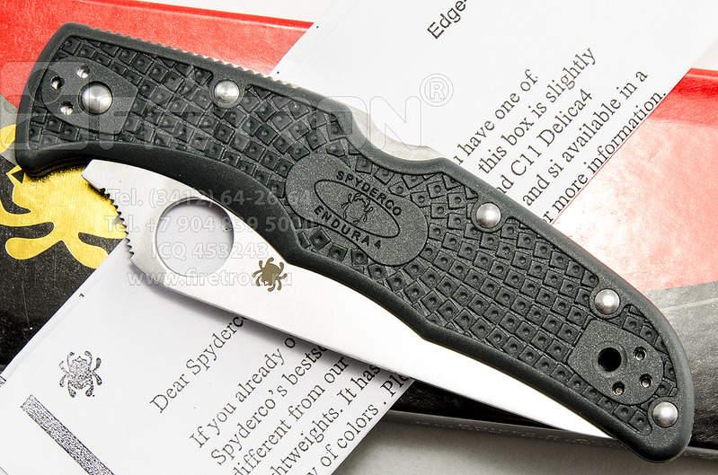 1500 X 993 248.0 Kb Продам нож Spyderco Endura 4 ZDP 189 C10GRE Китай копия отличного качества 440С 58HRC