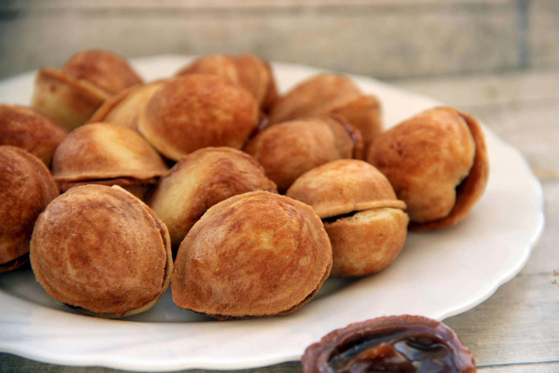 Выпечка орешки со сгущенкой рецепт