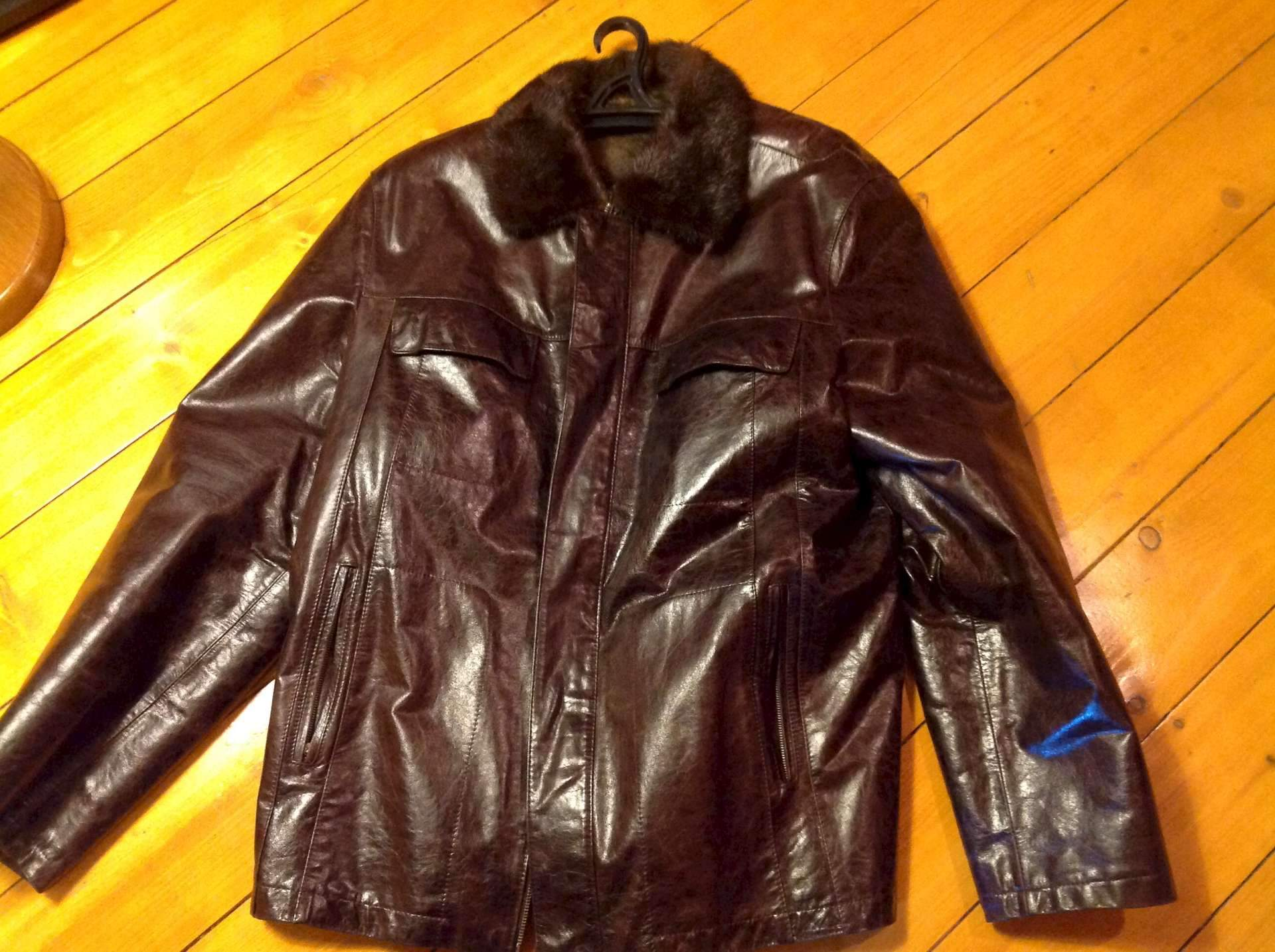 Купить Мужские Кожаные Куртки На Меху В Москве