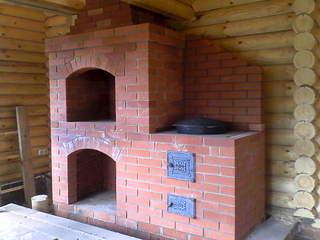 2048 X 1536 196.9 Kb Кладка печей, каминов, барбекю (фото). Проекты с порядовками