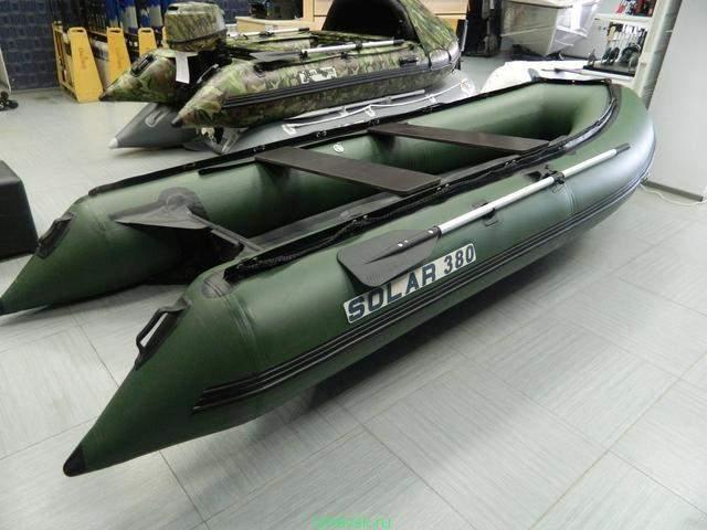 лодки солар официальный сайт цены видео