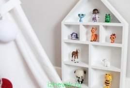 268 x 182 уютный магазин, вигвамы, эко-мешки для игрушек, тайские гирлянды и пр. оформление