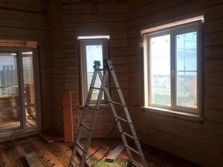 480 X 360 57.2 Kb Окна пластиковые и обсадные коробки (окосячка ) в деревянные коттеджи.