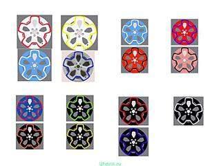 720 X 540 46.6 Kb Окраска автомобильных дисков
