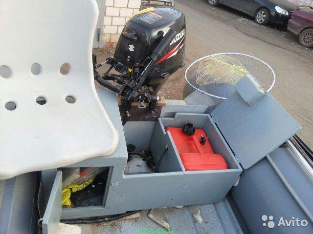 бокс для аккумулятора в лодку пвх