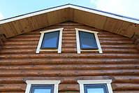 1100 X 733 353.2 Kb 1300 X 867 459.6 Kb Окна пластиковые и обсадные коробки (окосячка ) в деревянные коттеджи.