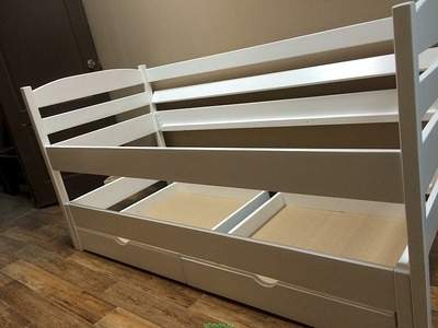 кровати детские из массива
