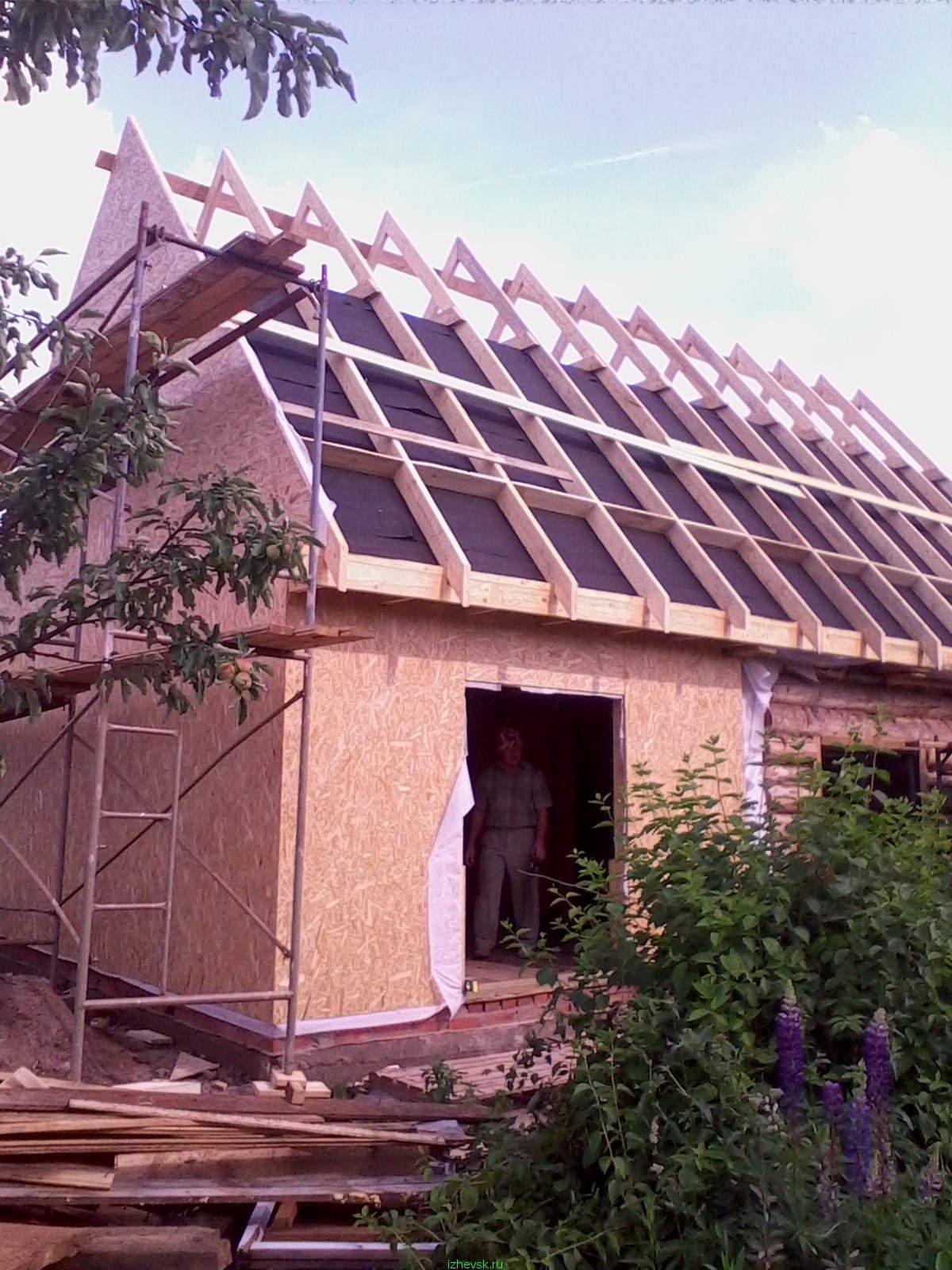 Как построить мансардную крышу своими руками: ломаная крыша