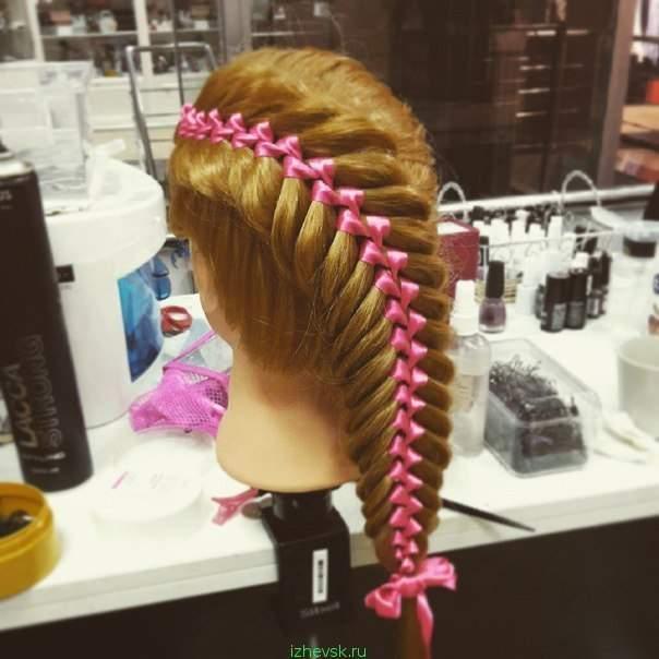 Плетение кос минск