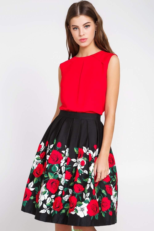 Красная Блузка Купить С Доставкой