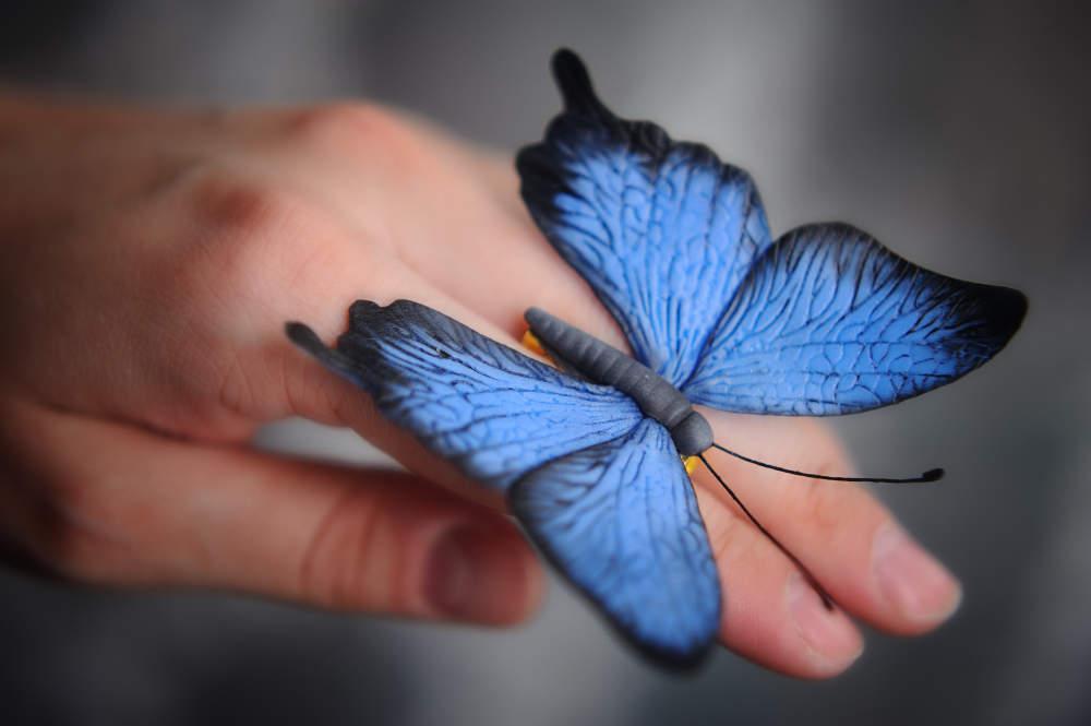 Бабочки мастер класс в