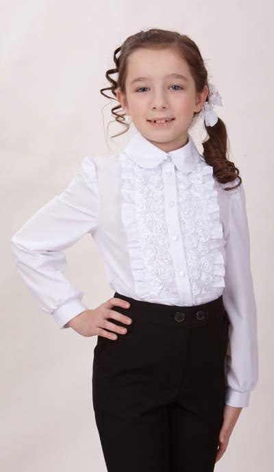 Белые Блузки Для Школы В Волгограде