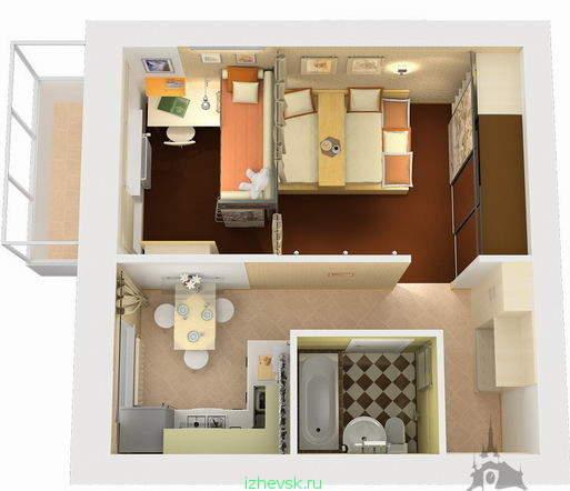 Продам малогабаритную трех-комнатную квартиру в теплом кирпичном доме