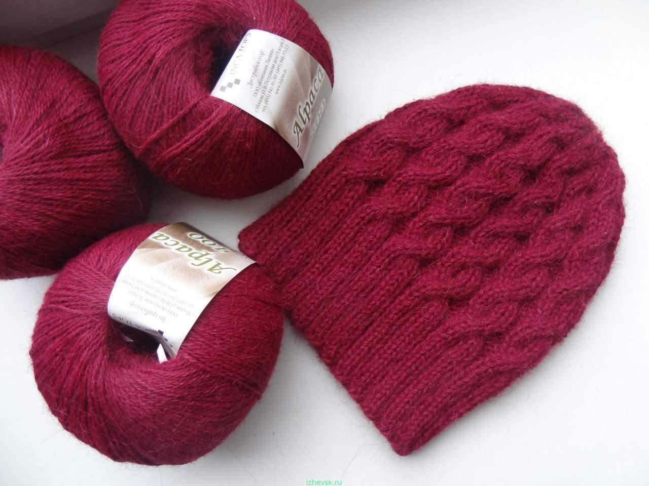Вязание спицами носок и шапок 533