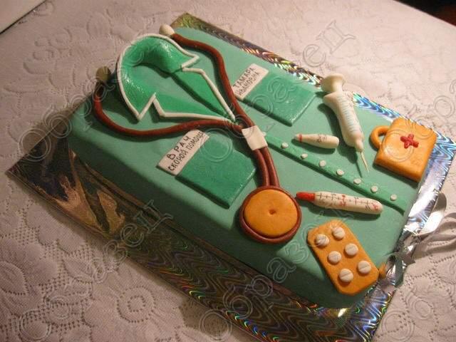 Фото тортов медецинская тематика
