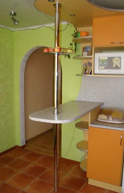 Барный стол для маленькой кухни своими руками 1