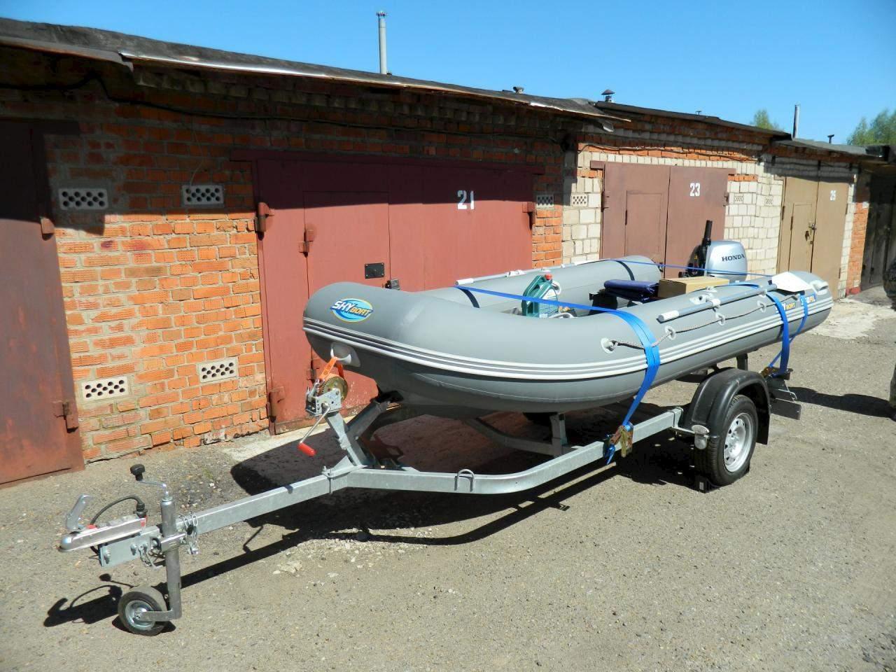 автоприцеп для лодки 360